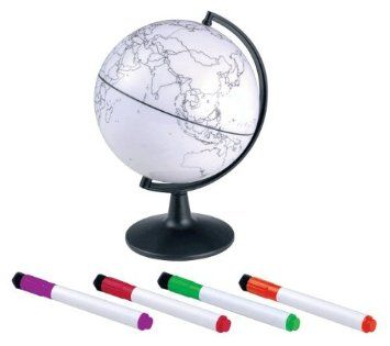 Amazon elenco edu 37373 5 color my world globe geographic cheap gift delivery hong kong buy quality globe keyring directly from china gift box for baby suppliers color my world globe scrawling with stickers gumiabroncs Image collections