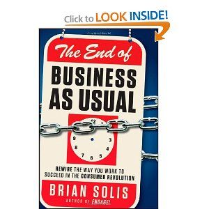 Brian Solis has been busy in 2011, revising his best-selling social media book Engage while also releasing another noteworthy book. This time around, he peels off the many layers that comprise the complex consumer revolution that is changing the future of business, media and culture. He sets out to change the way view the world of business through critical insights into brands and growing consumer influence in the marketplace. The title of the book is a bit sensational, but social is inc...