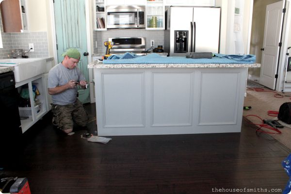 A Kitchen Re Style: Part 4   Cabinets Raised Panel Or Beadboard Island?