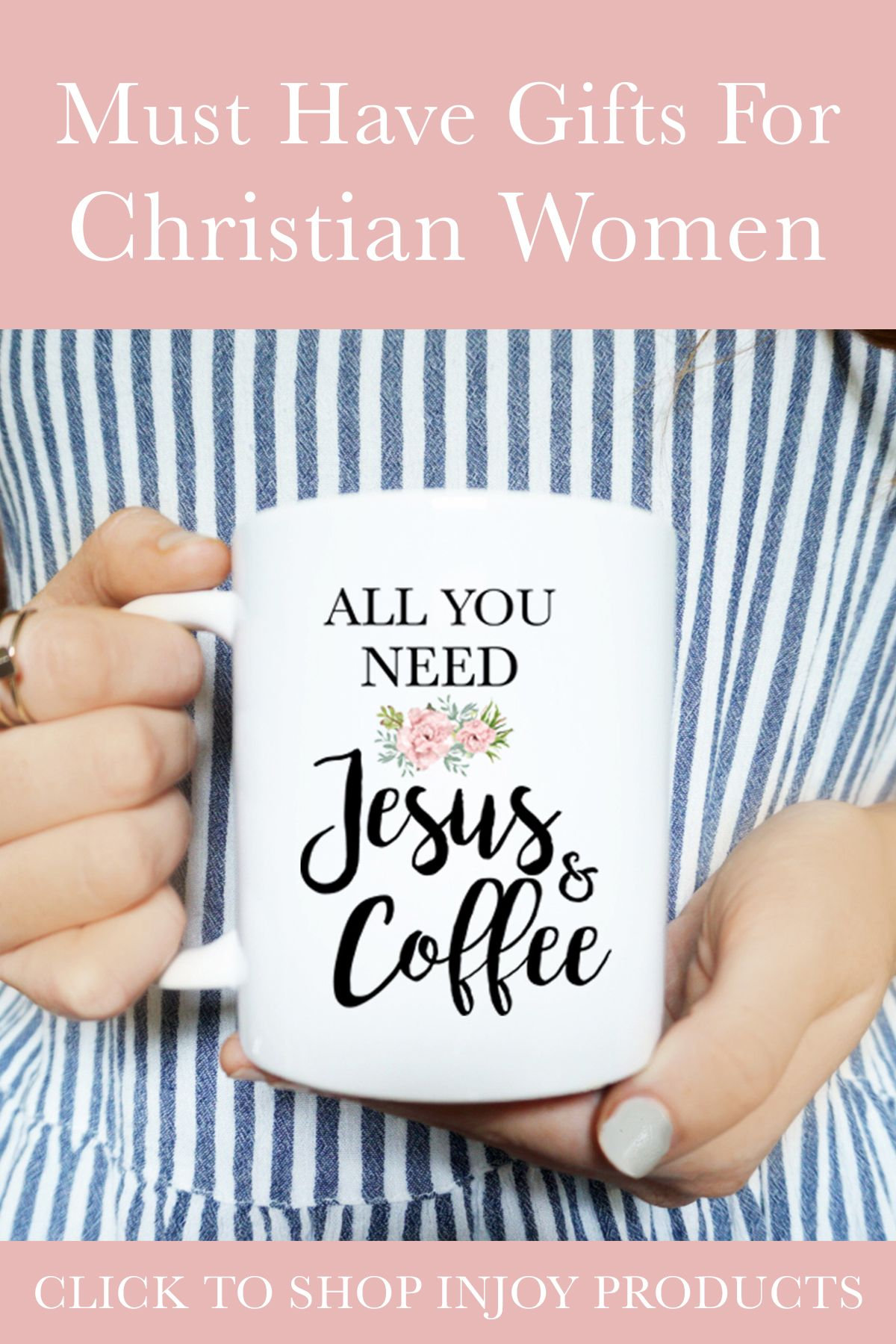 All You Need Is Jesus & Coffee, Coffee Mug, Christian