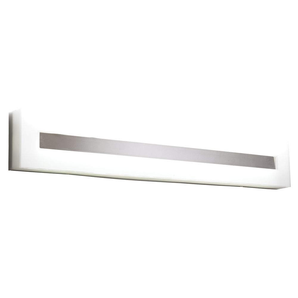 2 Light Vanity Estilo Collection shown in Polished Chrome by PLC Lighting - 1017