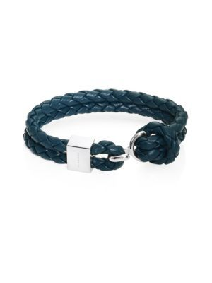 Burberry Braided Leather Bracelet Bracelets For Men