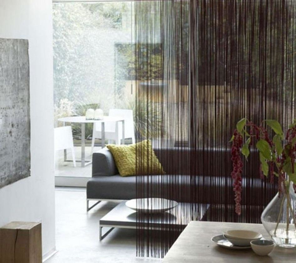 Luxury Curtain As Living Room Partition Curtains With Blinds