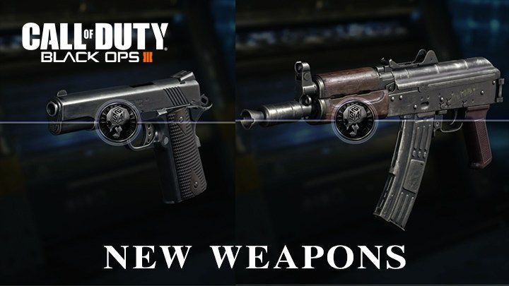 "CoD:BO3: 新武器「AK74u」と「M1911」追加、動く限定迷彩""Into the Void""も - http://bit.ly/2qTGmL5"