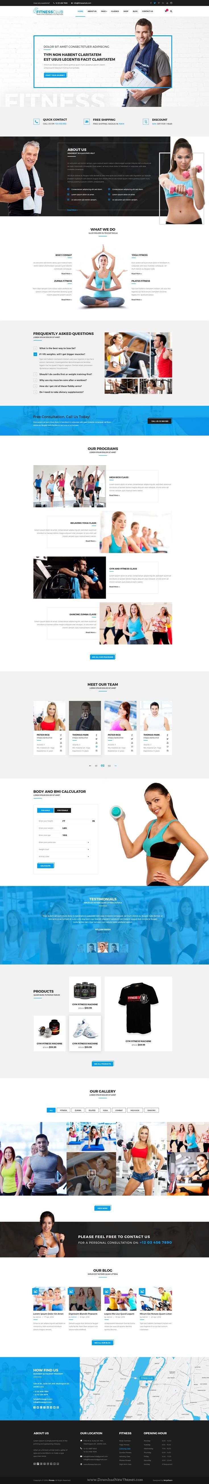 Fitnessclub Professional Gym Services Psd Psd Photoshop Fitness Club