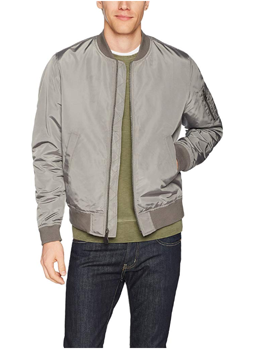 100 Polyester Imported Machine Wash lightweight bomber