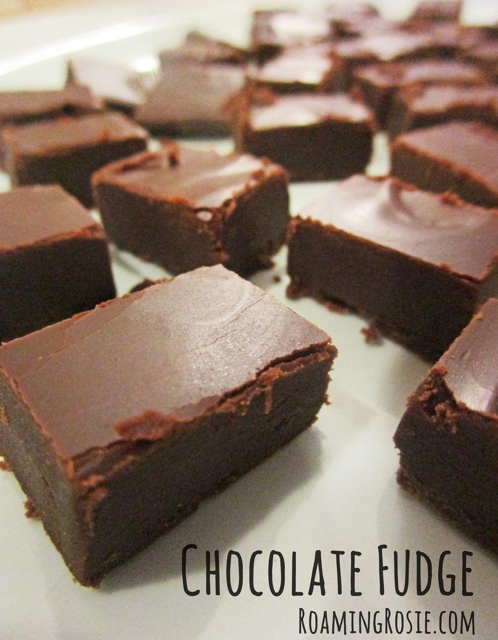 Easy Milk Chocolate Fudge Recipes Fudge Recipes Fudge Recipes Chocolate Fudge Recipe Without Condensed Milk