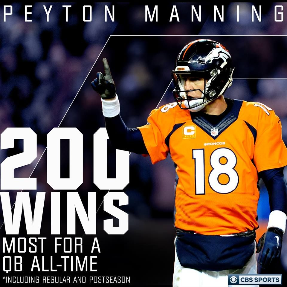 Nfl On Cbs Timeline Photos Peyton Manning Cbs Sports Nfl On Cbs