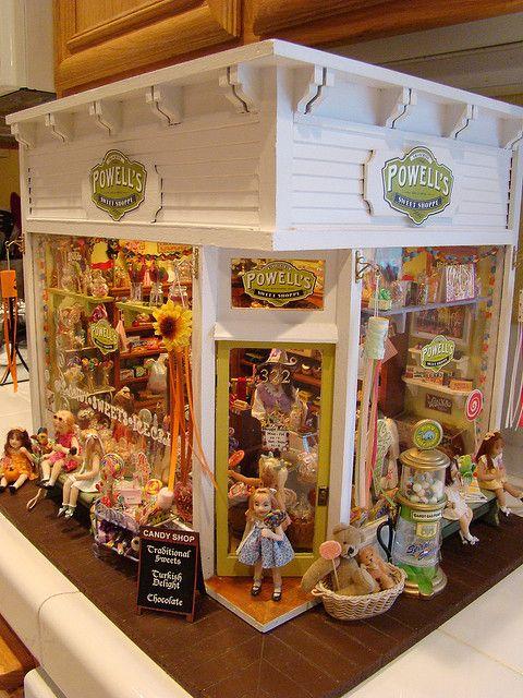 My Miniature Powells Sweet Shoppe 1 12 Dolls House Shop