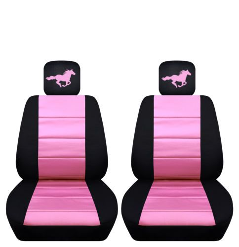 2015 To 2016 Ford Mustang Front Seat Covers With A Horse Ford Mustang Seat Covers 2017 Ford Mustang