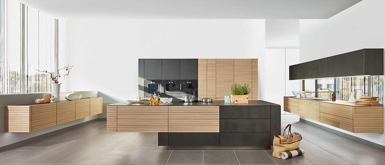 Zeyko Kuche Eiche Beton Spaces Where Eating Is A Pleasure Kitchens