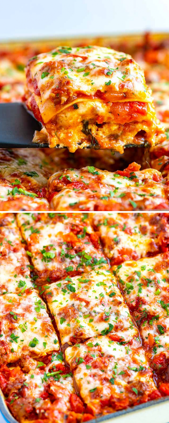 Amazing lasagna doesnt need to be complicated.