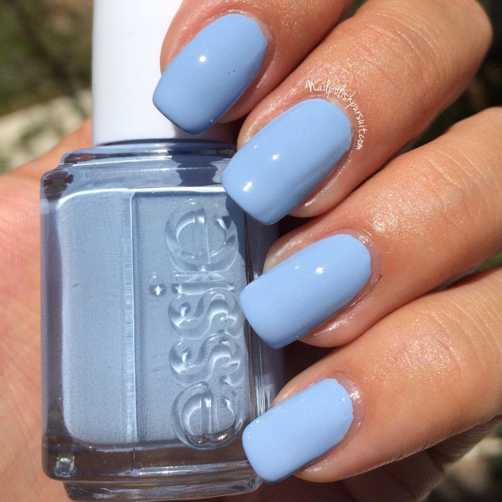 Essie Salt Water Happy | Beauty | Pinterest | La uña, Manicuras y ...