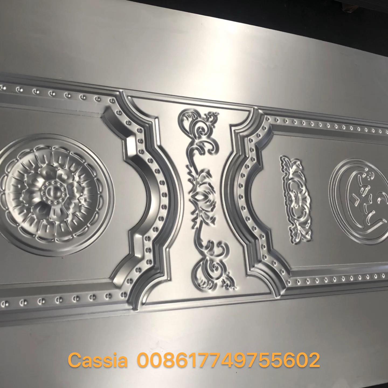 ألواح ابواب صاج مزخرفة Decorated Doors Sheets Plates Video Molde