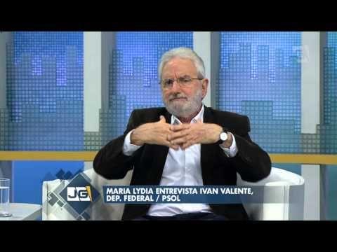 Maria Lydia entrevista Ivan Valente, Deputado Federal  PSOL (11/2015)