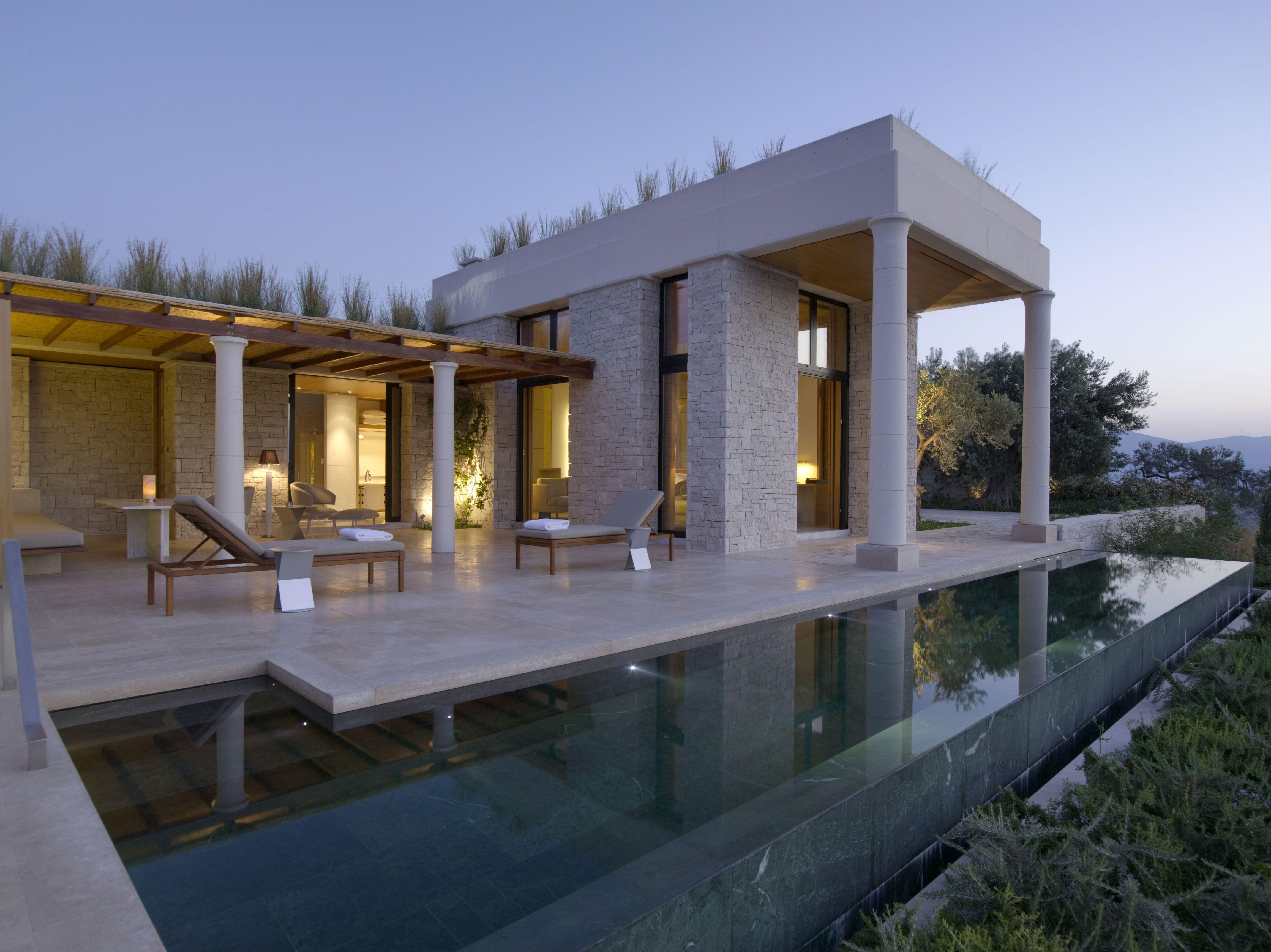 Peloponnese Luxury Hotels True Greece Presents The Amanzo E Resort Hotel In Porto Heli Pelopponese