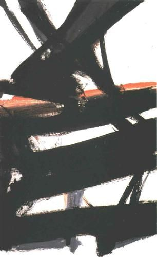 Horizontal Rust Franz Kline Franz Kline Abstract Cincinnati Art