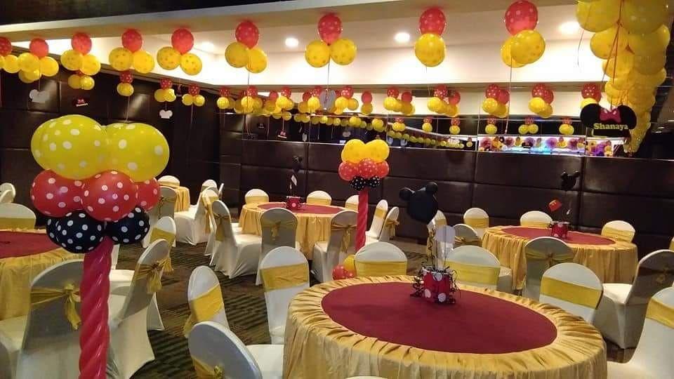 Party Hall Decoration Birthday Decorations Birthday Party Decorations Mickey Mouse Birthday Theme