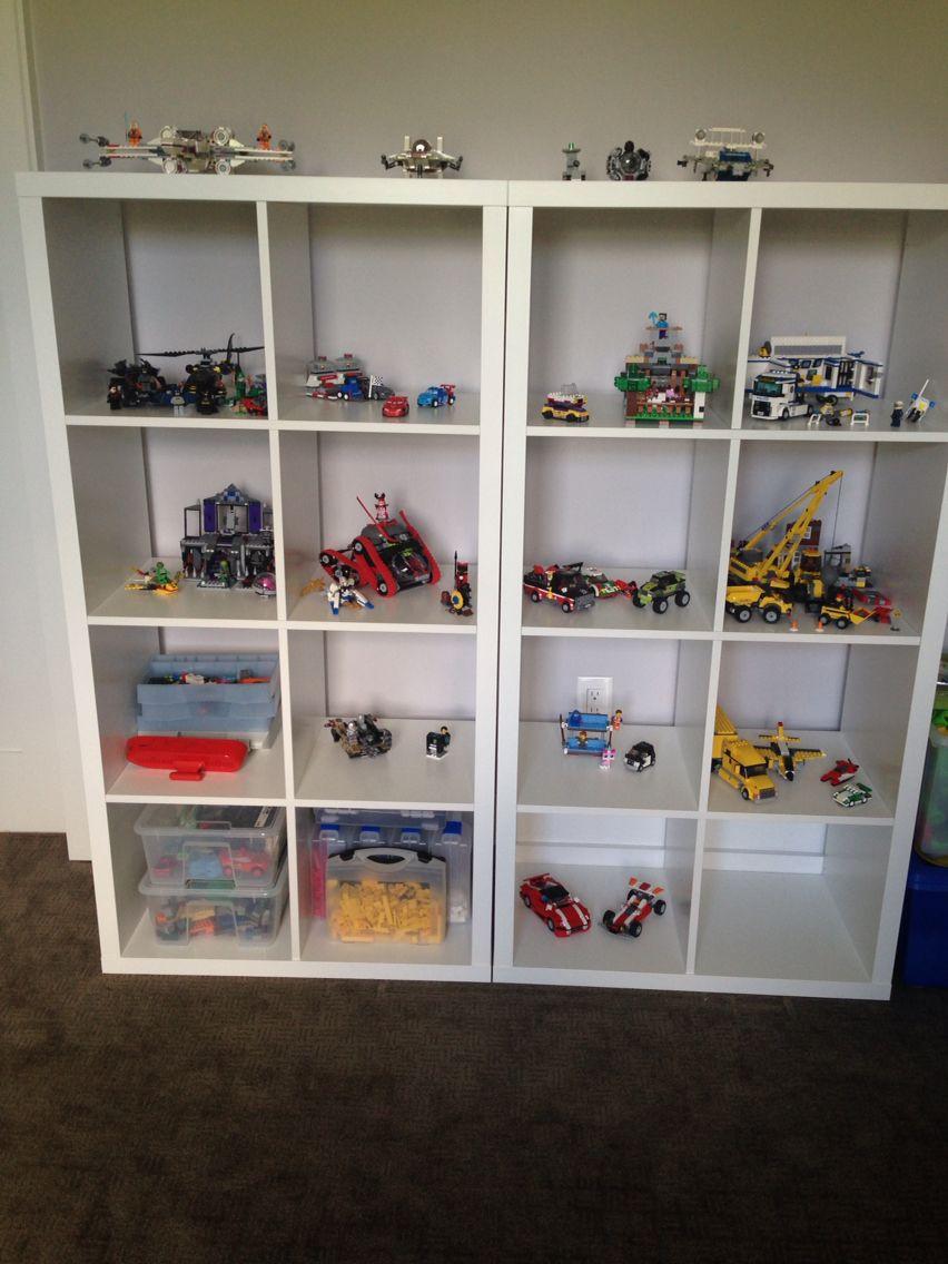 Lego Display And Storage With Ikea Kallax Lego Room Decor Lego Display Lego Room