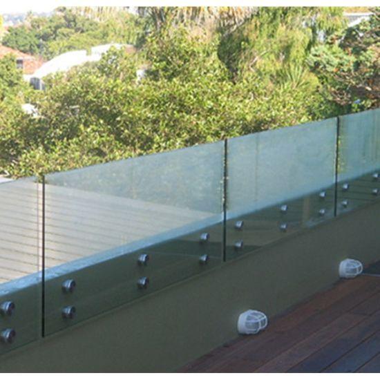 Best Hot Item Patch Fitting Frameless Glass Balustrade Glass 640 x 480