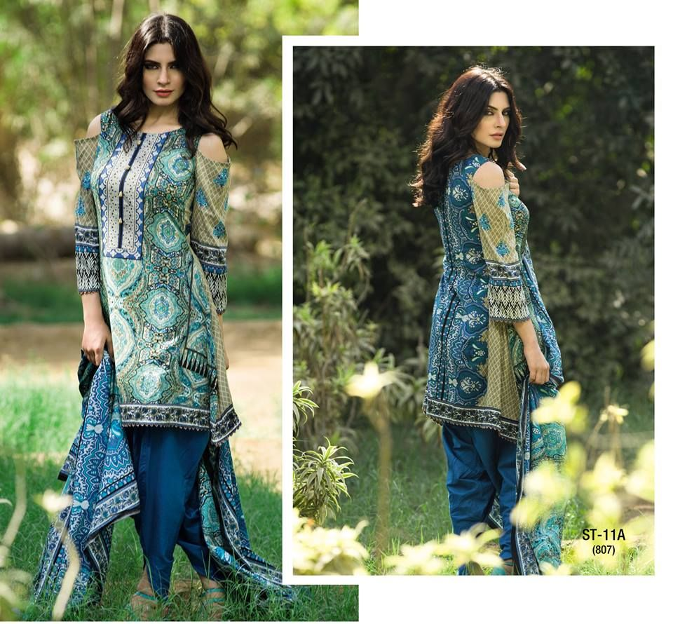 5820069fb8 Libas Summer Lawn Dresses Designs For Girls 2017 in Pakistan ...
