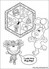 Blue S Clues Coloring Pages On Coloring Book Info Coloring Pages Online Coloring Pages Blues Clues