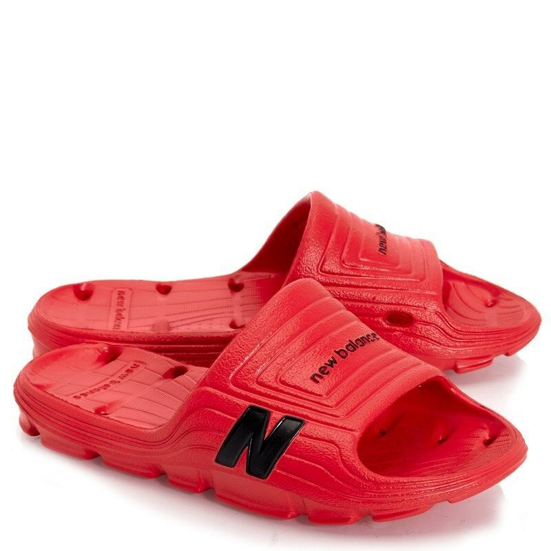 14ea99161d7ca New Balance Float Slide Boys Sport Lightweight Slip on Sandals Red Size 1  New #NewBalance #Sandals