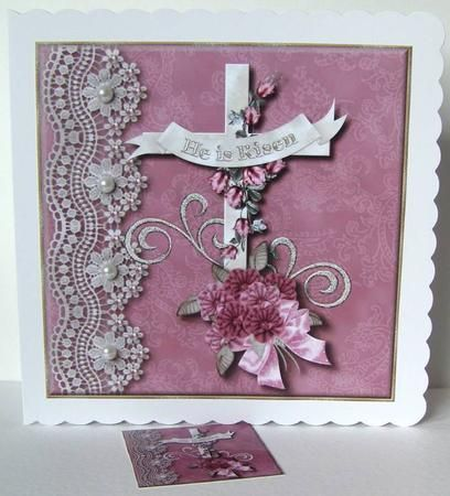 Homemade religious easter cards google search religious easter homemade religious easter cards google search negle Images