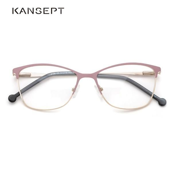 Metal Women Glasses Frames Optical Prescription Glasses Frame Pink Eyeglasses TF2198C5  Metal Women Glasses Frames Optical Prescription Glasses Frame Pink Eyeglasses TF21...