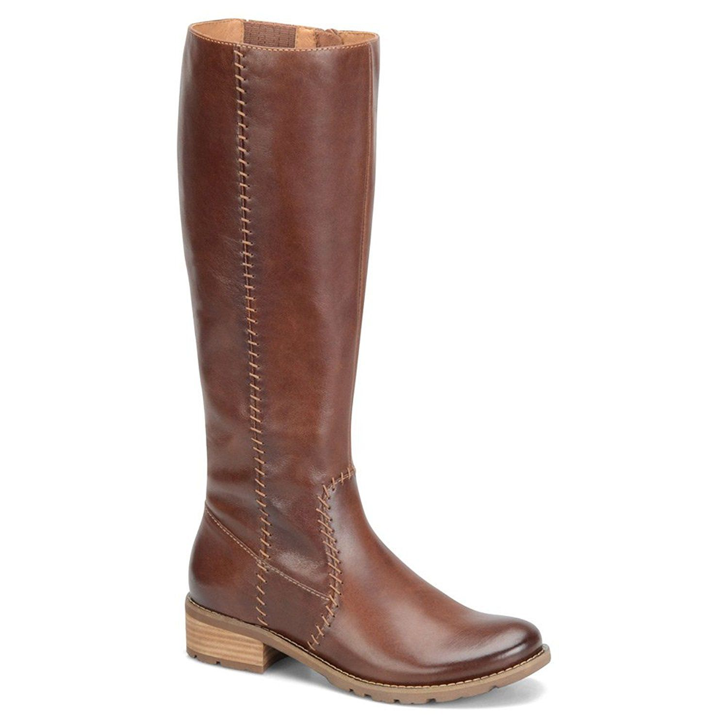 Sofft Womens Adabelle Leather Almond
