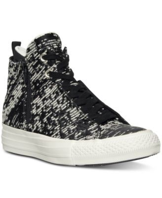 8563fe53cf2d CONVERSE Converse Women s Selene Winter Knit High-Top Casual Sneakers from  Finish Line.  converse  shoes   all women