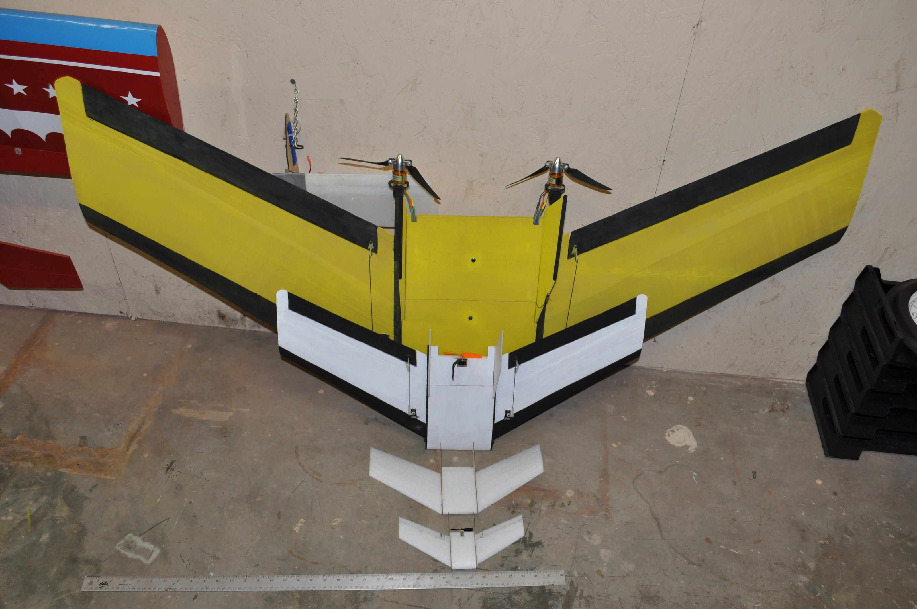 The Striker A Simple Yet Complex Wing Rc Groups Radio Control Very R C Gliders