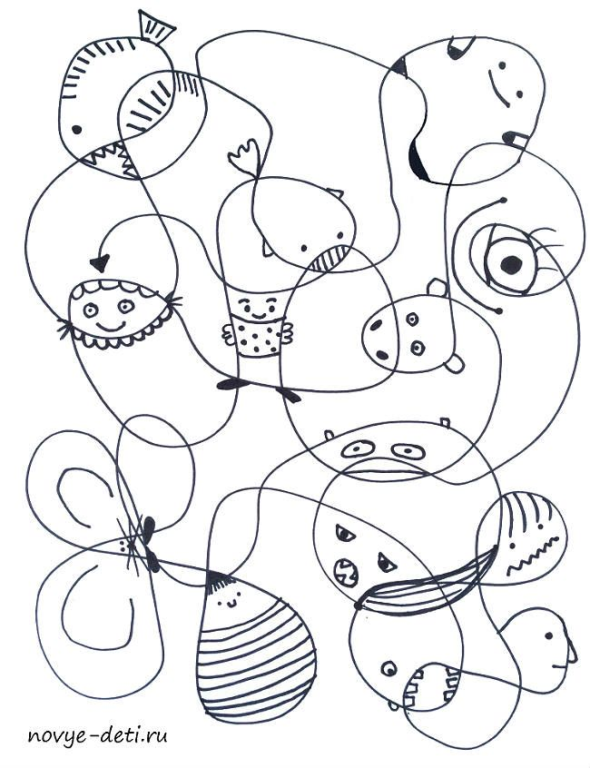 кабаева показала картинки для развития творческого воображения напоминает какой-то парк
