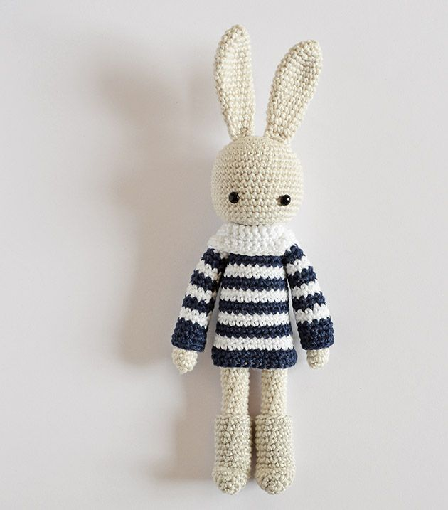 Angie Bunny – Nordic Boots – CrochetObjet by MoMalron | tejer ...