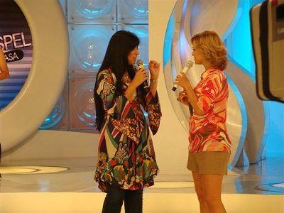Fernanda Brum no Programa Eliana .