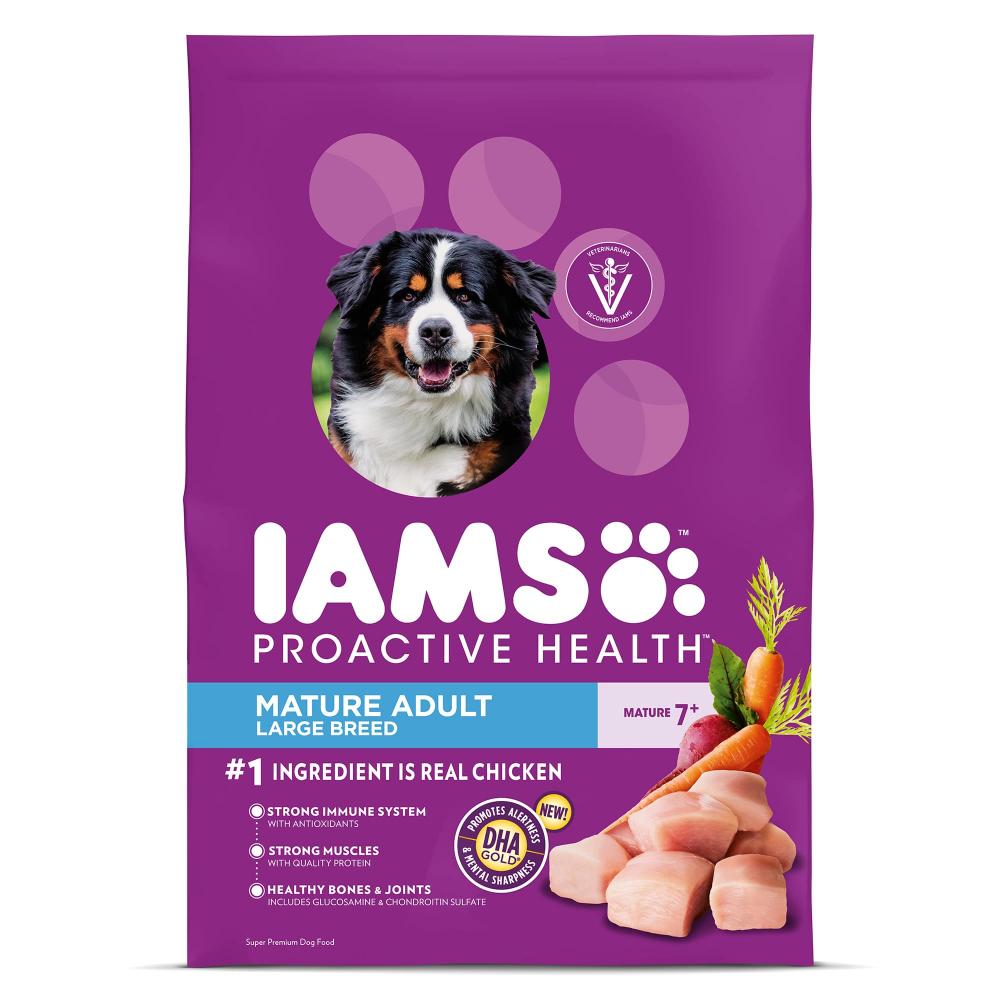 Proactive Health Large Dog Food Chicken Flavor Iams Dog Food Recipes Dry Dog Food Iams Dog Food
