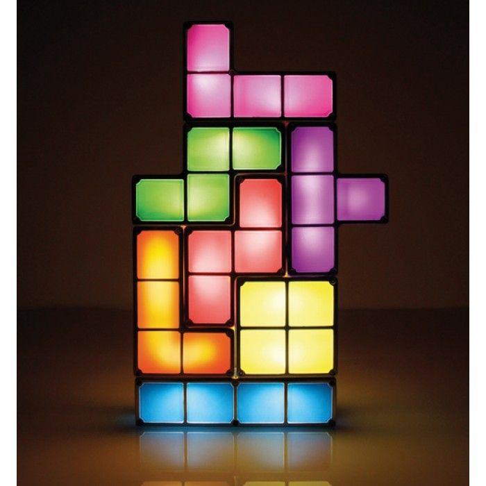 Tetris Build Your Own Lamp