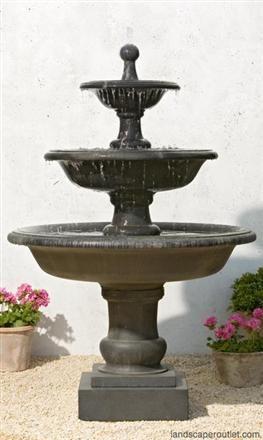 Vicobello Garden Tier Fountain Water Fountains Outdoor Fountains Outdoor Outdoor Fountain