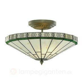 Badeværelse loftslampe tiffanynew york 1945,-