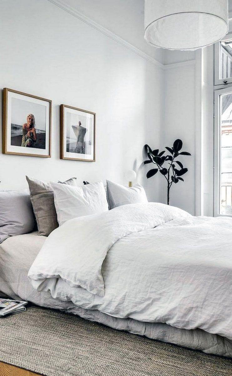 31 Magnificent Rustic Scandinavian Interior Bedroom Inspirations In 2020 Modern Scandinavian Bedroom Scandinavian Interior Bedroom Bedroom Design Trends