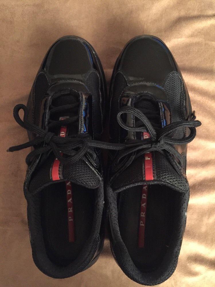 PRADA Sneakers Mens America's Cup Black