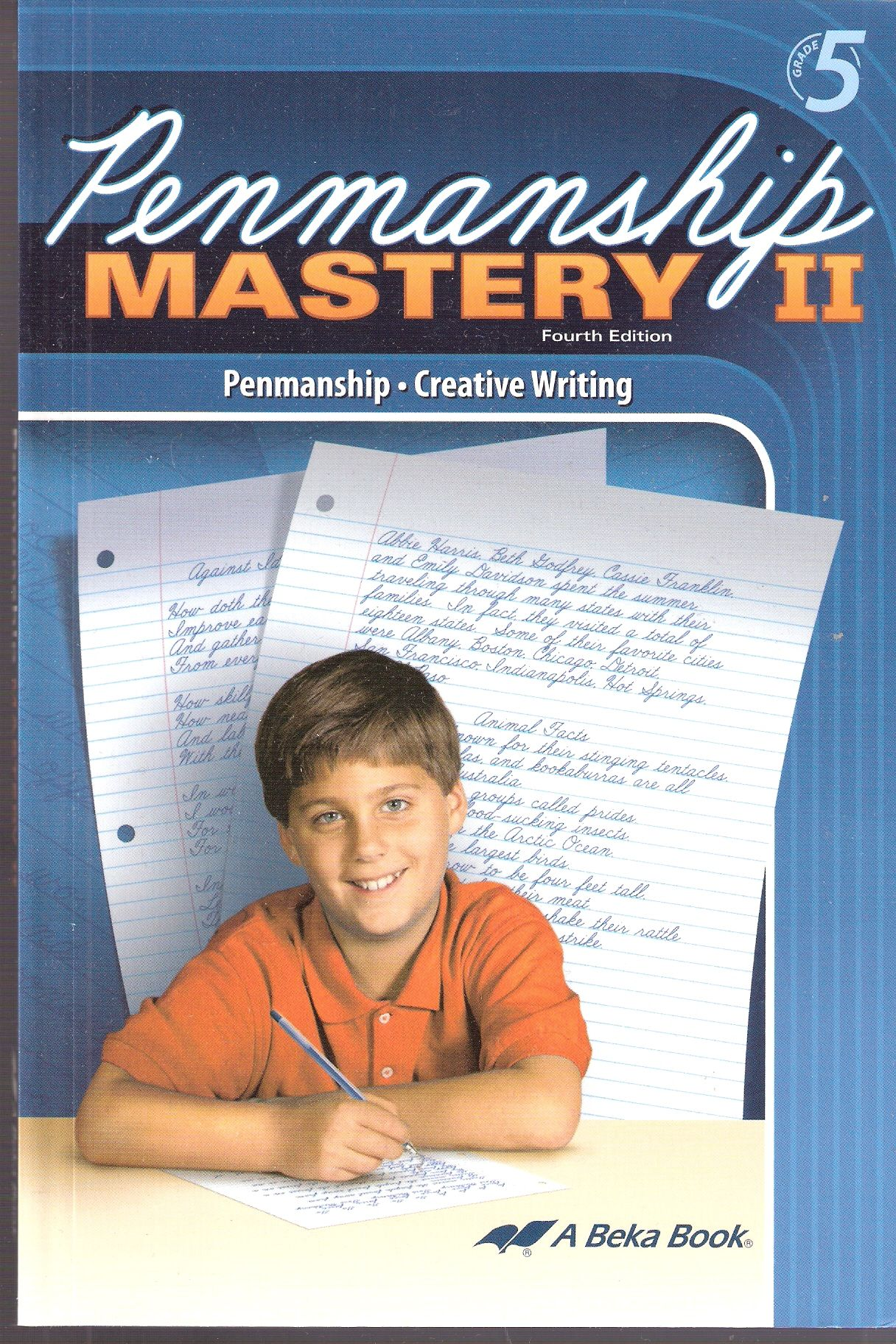 Abeka Penmanship Mastery 2 4th Edition Gives Instruction In Correct Formation Spacing Letter Size Slant Neatness W Abeka Penmanship Handwriting Analysis [ 1824 x 1216 Pixel ]
