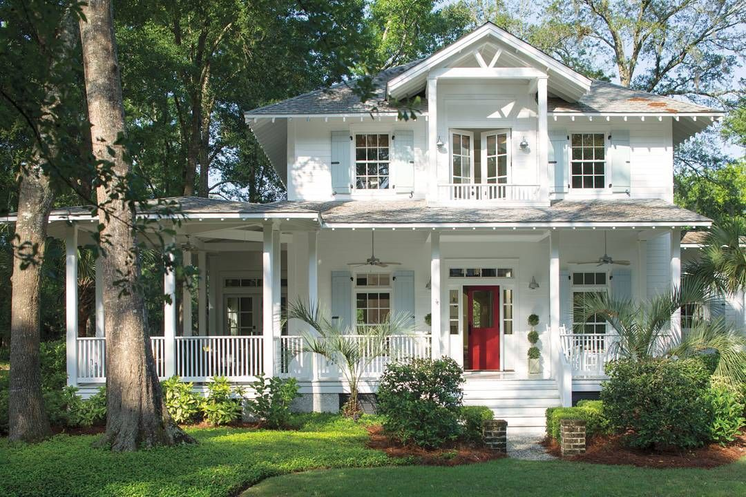 Red Brick House With Shutters Color Schemes Front Porches