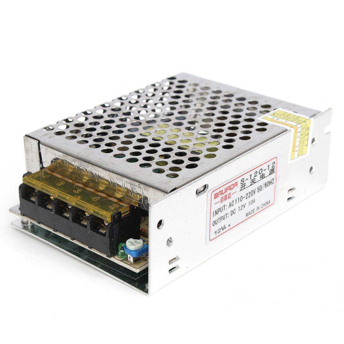 AC110220V To DC 12V 10A 120W Power Supply Lighting