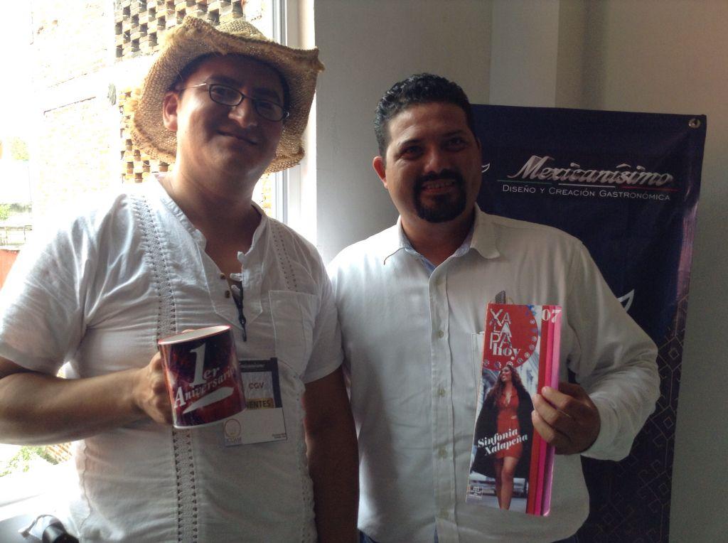 #mexicanisimoXalapa  Óscar Mora de Finca Xhanat con su carisma y pasión por la vainilla @aortizgarca @merarive @Bonne2015 @rosaturquesa @bellagress @B