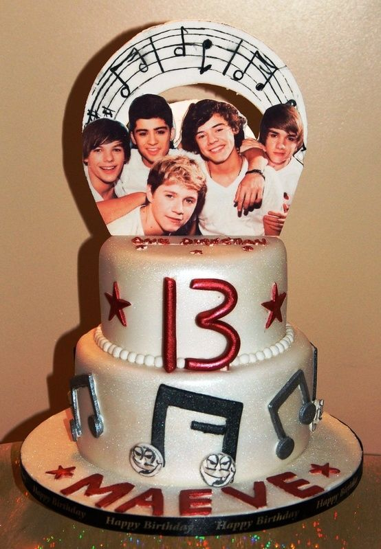 Pin On Birthday Cakes For Girls 10 And Up