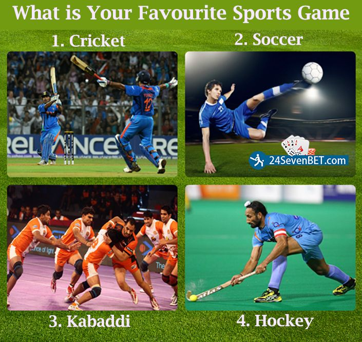 What is Your Favourite Sports Game ? Chose & Bet on Your