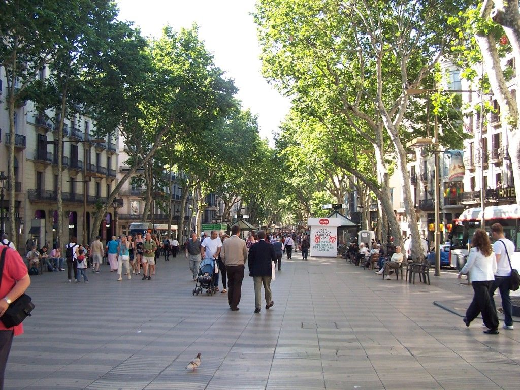 In Is La Endless The Main Drag BarcelonaSpainThere Ramblas Are LpqSUVjzMG