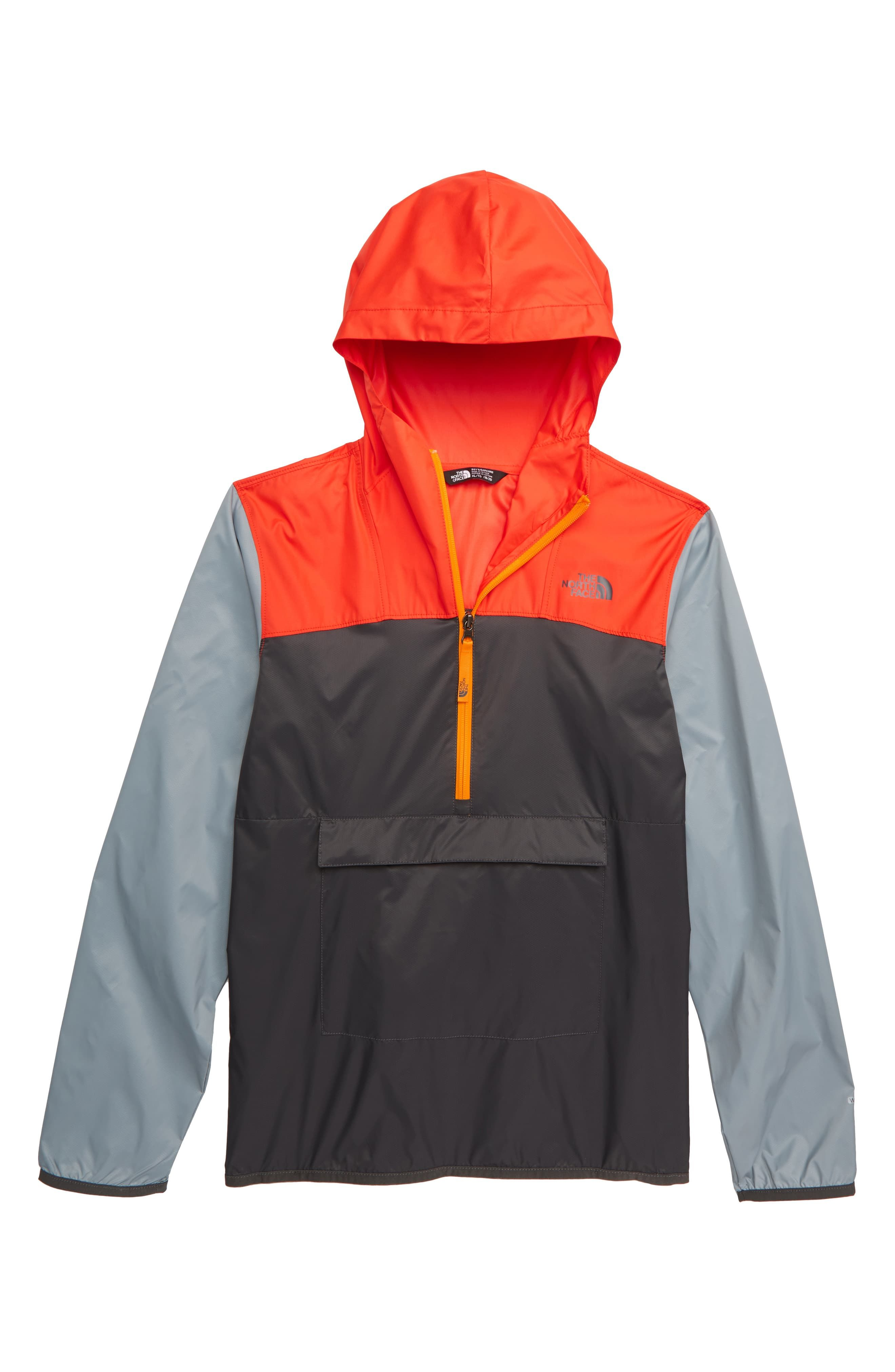 f70a82f20 Boy's The North Face Fanorak Water Repellent Hooded Windbreaker ...