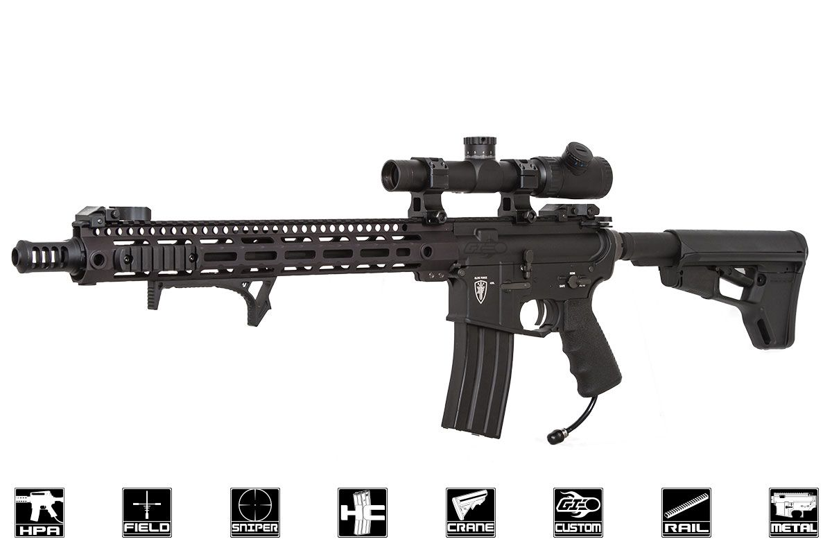 Airsoft AABB HK416C style stock for 416//AEG M4